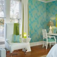 Lime Green And Turquoise Bedroom Design Ideas