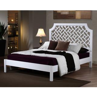 Trellis Queen Size Bed Overstock Com