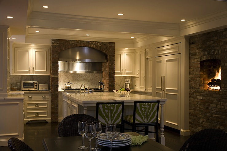U Shaped Kitchen Eclectic Kitchen Kate Coughlin