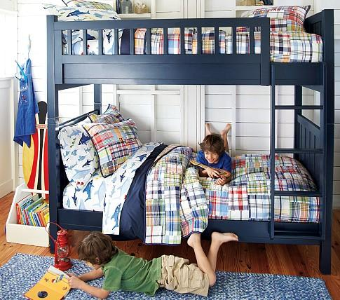 Camp TwinOverFull Bunk Bed  Pottery Barn Kids