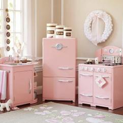 Retro Kids Kitchen Miele Pink Collection Pottery Barn Link On Pinterest View Full Size