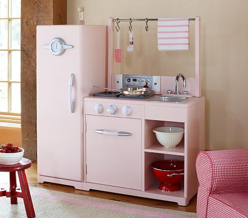 Pink Allin1 Retro Kitchen  Pottery Barn Kids