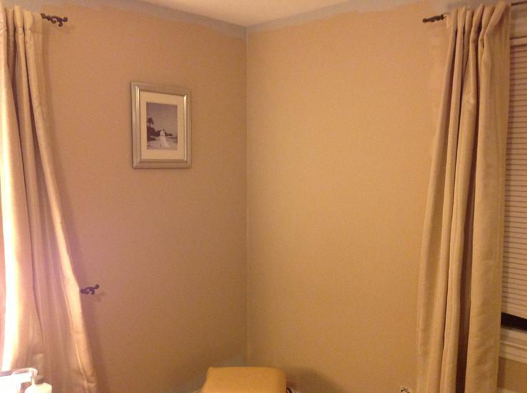 Traditional Bedroom in Sherwin Williams Practical Beige Finish
