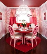 Pink Dining Room - Contemporary - dining room - Jennifer ...