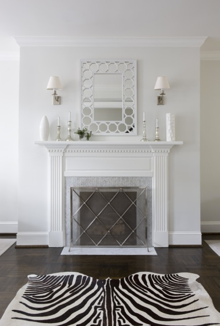 All White Kitchens Wood Floors