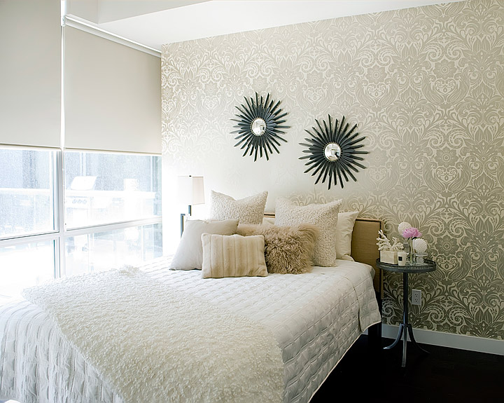 Baby Girl Wallpapers For Rooms White Bedroom With Gold Accents Transitional Bedroom