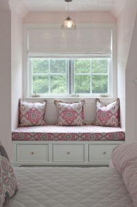 Pink and Gray Girls Room - Transitional - girl's room ...