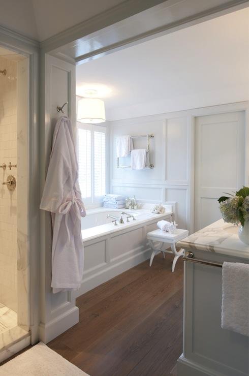 Drop In Tub Ideas  Transitional  bathroom  Nightingale