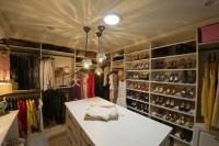 Walk In Closet Island - Transitional - closet - California ...