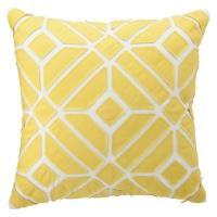 Nate Berkus for Target Yellow Geometric Pillow - Target