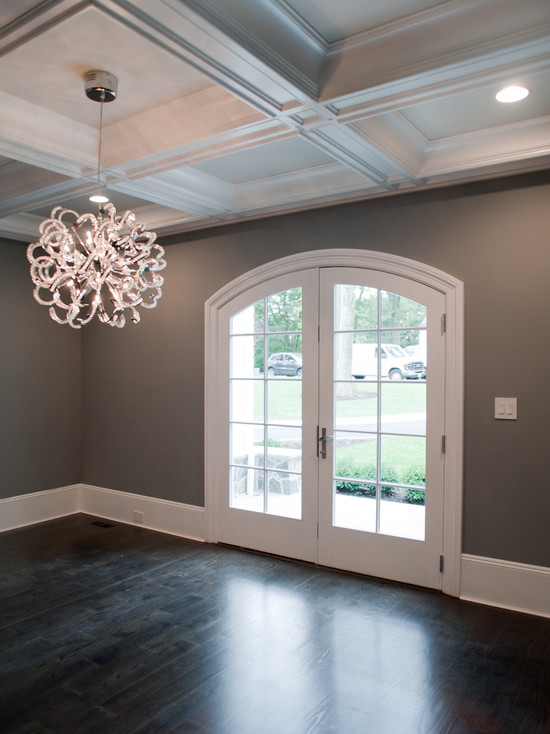 Dark Gray Paint : paint, Paint, Colors, Transitional, Dining, Muralo, Majestic, Michelle, Winick, Design