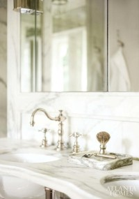 His and Her Sinks - Transitional - bathroom - Atlanta ...