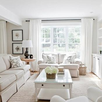 white curtains for living room mediterranean barbara barry poetical drapes design ideas monochromatic