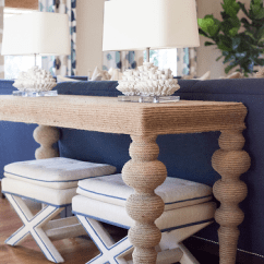 Console Table Behind Sofa Decor Ideas Set White Color Design