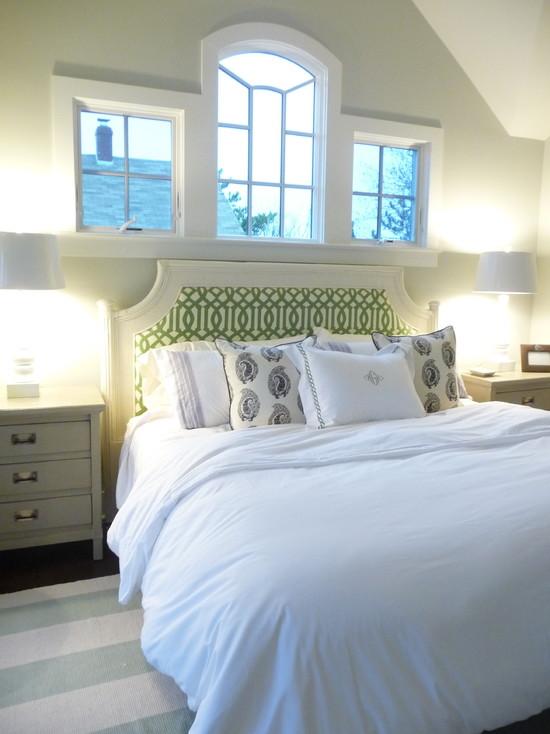 Kelly Green Bedroom  Transitional  bedroom  HGTV