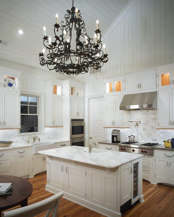 Vaulted Ceiling Kitchen  Transitional  kitchen  Pulliam