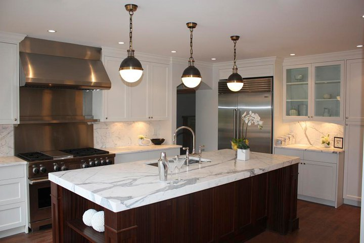 hardware for white kitchen cabinets counter height chairs thomas o'brien hicks pendants - transitional ...