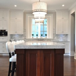 Contemporary Kitchen Backsplash Pictures For Walls Two Tone - Transitional Sarah Gallop ...