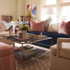 Velvet Sectional Sofa Wooden Cushion Design Blue - Modern Living Room Smith Boyd Interiors