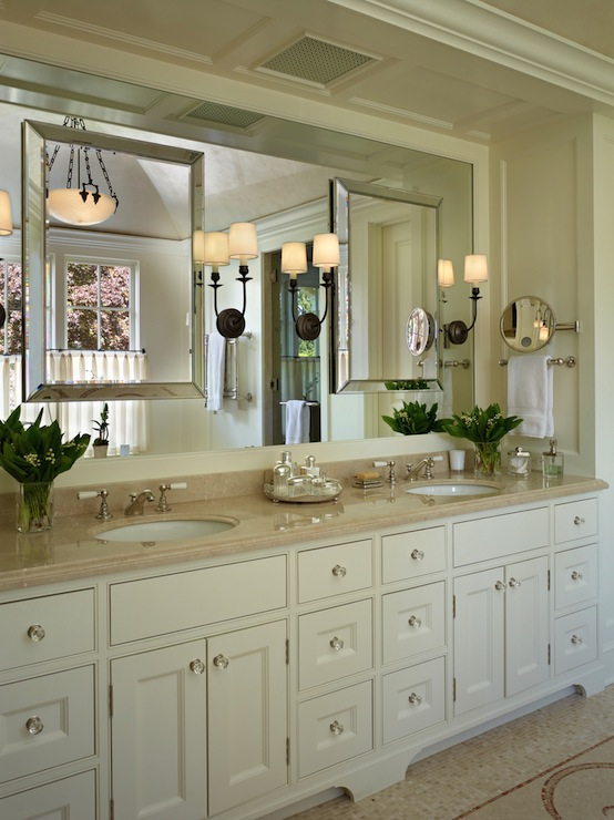 Beveled Mirror  Traditional  bathroom  Toth Construction