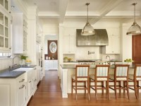 Coffered Ceiling Kitchen - Traditional - kitchen - Toth ...