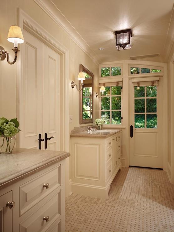 Cream Bathroom Vanity  Traditional  bathroom  Toth