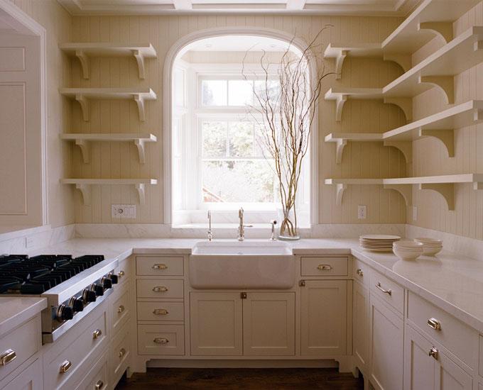 Beadboard Kitchen  Cottage  kitchen  Tim Barber
