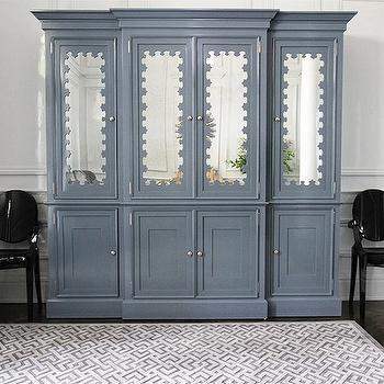 Gray Boy's Room Armoire