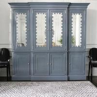 Gray Boy's Room Armoire