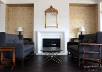 Fireplace Alcoves - Contemporary - living room - Amy Meier ...