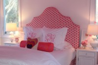 White and Pink Headboard - Contemporary - girl's room ...