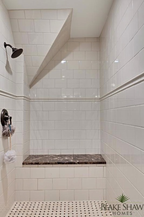 Subway Tiled Shower Enclosure Design Ideas
