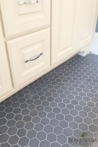 Gray Tile Bathroom Floor Design Ideas