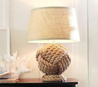 Rope Knot Table Lamp Base - Pottery Barn
