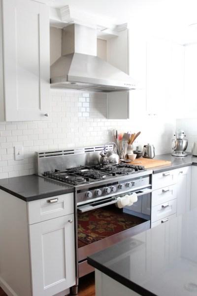 martha stewart white kitchen Martha Stewart Cabinets - kitchen - Glidden Picket Fence