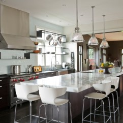 Long Kitchen Island Round Islands Contemporary Nb Design Group