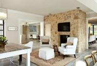 Fireplace Seating Design Ideas