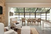 Sunroom Dining - Transitional - dining room - Gordon ...