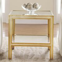 Mirrored End Table I Layla Grayce