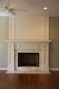 Marble Fireplace Surround - Traditional - living room - MHM