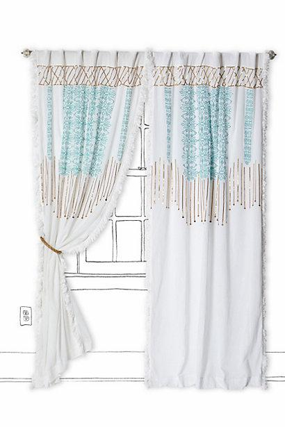Aqua Metallic Window Curtains Products Bookmarks Design