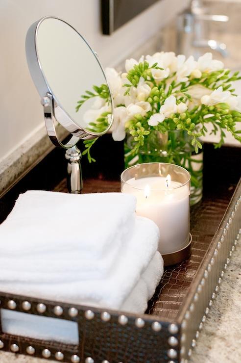 Bathroom Tray Contemporary Bathroom Ashley Winn Design