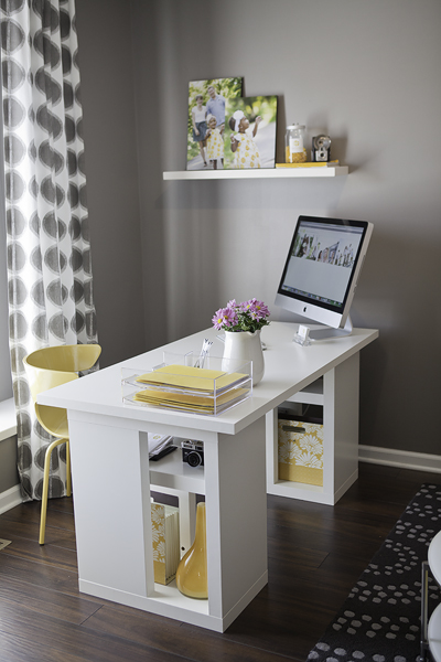 Ikea Desk  Contemporary  denlibraryoffice  Sherwin