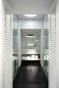 Floating Marble Vanity - Contemporary - bathroom - Burley ...