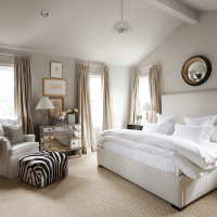 Tray Ceiling in Bedroom - Transitional - bedroom - Alice ...