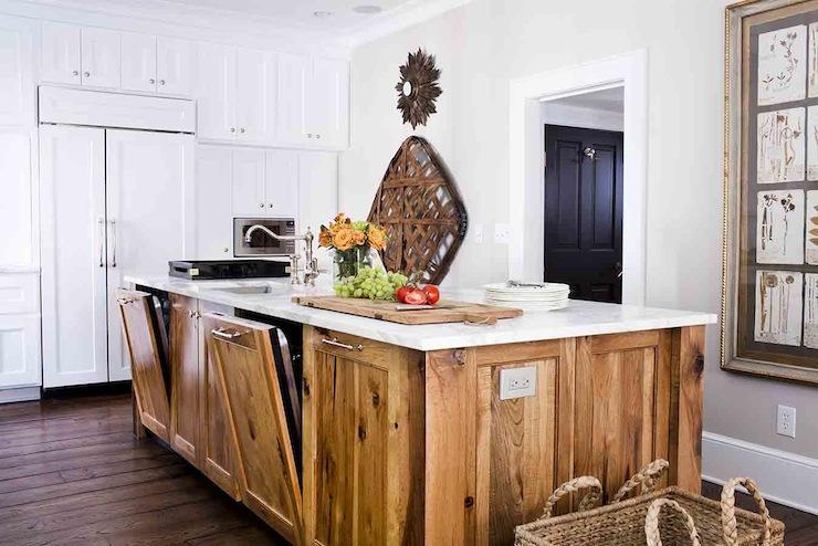 Hidden Dishwashers  Transitional  kitchen  Terracotta