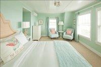 Seafoam Green paint - Cottage - bedroom - Benjamin Moore ...