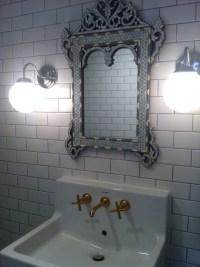 Venetian Mirror in Bathroom - Eclectic - bathroom - Bijou ...