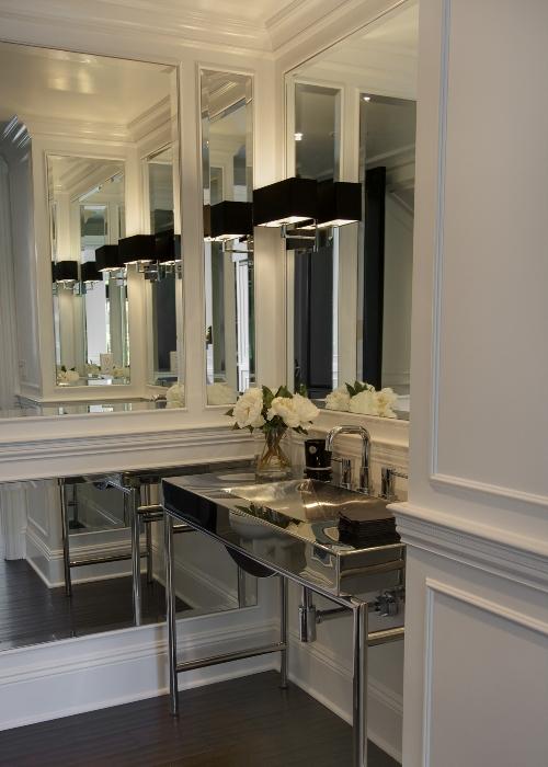 Chrome Washstand  Contemporary  bathroom  P2 Design