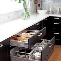 Ikea Kitchens Cabinets Moen White Kitchen Faucet Two Tone Design Ideas With Upper Ramsjo Paired And Lower Black Brown Accented Tyda Handles